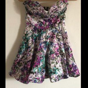 Strapless Windsor Flower Dress